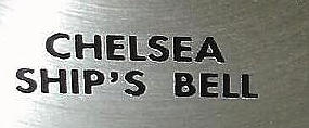 Chelsea Clock c. 2005 stamped metal