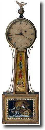 Aaron Willard Jr Antique Clock