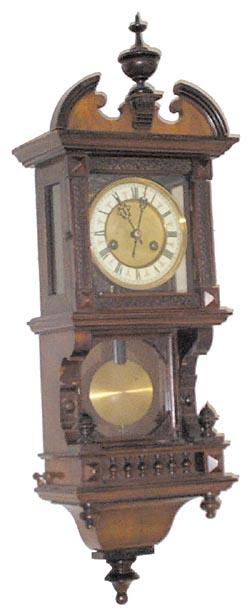 Hamburg American Clock Company Hac Antique Clock