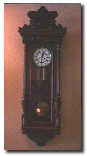 Gustav Becker Antique Clock