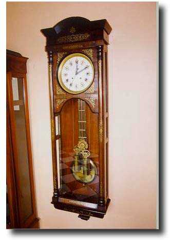 Russian Or Russia Wall Antique Clock