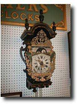 Dutch Or Holland Wall Antique Clock