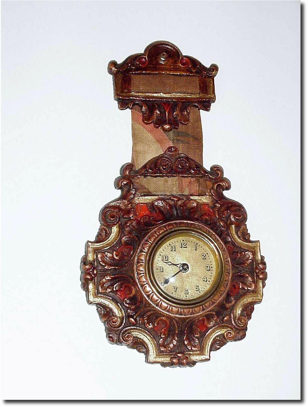 Lux Louis Xvi Fob Clock
