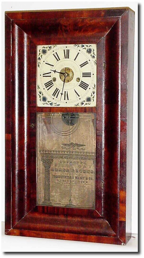 Forestville Manufacturing Company Antique Clock