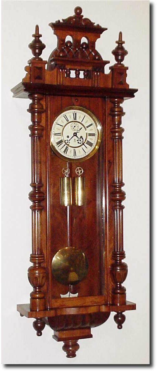 Gustav Becker Antique Clock