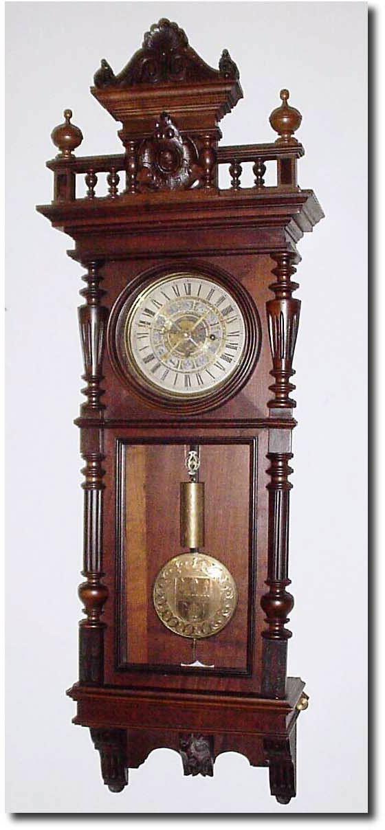 Austrian Or Austria Wall Vienna Antique Clock