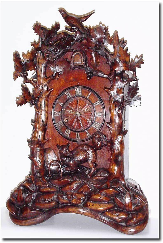 German or germany shelf cuckoo antique clock - Cuckoo clock plans ...