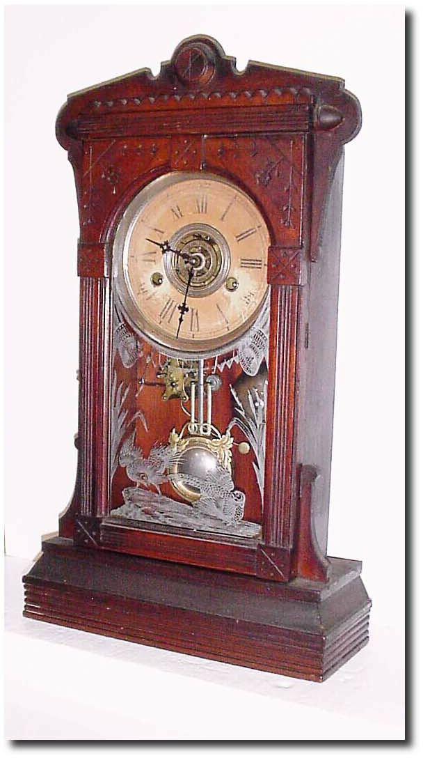 Wm L Gilbert Antique Clock