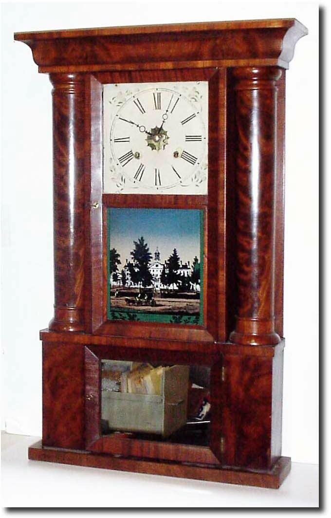 Elisha Manross Antique Clock