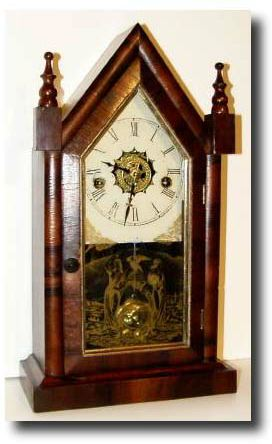 Waterbury Clock Company Small Gothic V.P.