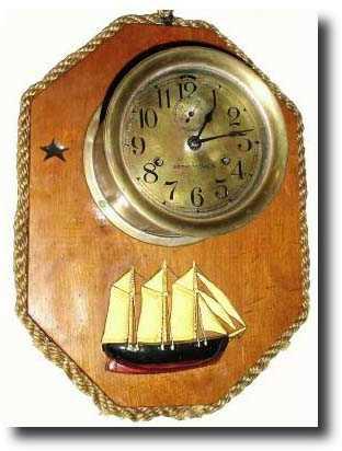 Seth Thomas Ships Bell, Monitor