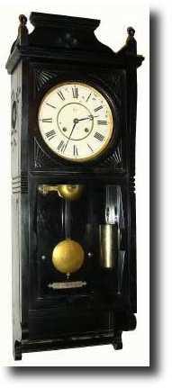 """Antique Seth Thomas """"Regulator No. 63"""" Model Clock"""