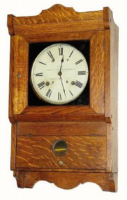 Simplex Time Recorder Company Antique Clock