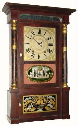 Prestons Orton And Company Antique Clock