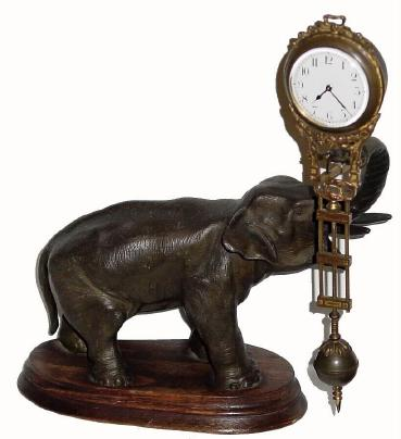 Junghans Elephant Swing Clock