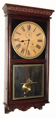 Waterbury Clock Company Stork