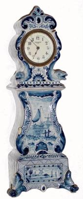 New Haven Mini Delft Tall Clock