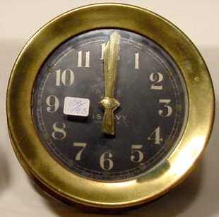 Seth Thomas U.S. Navy Deck Clock No. 1
